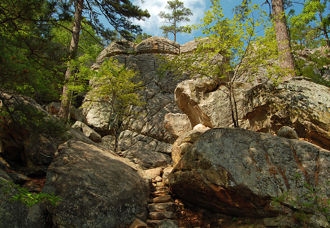 Robbers Cave State Park (credit: scenicusa.net)